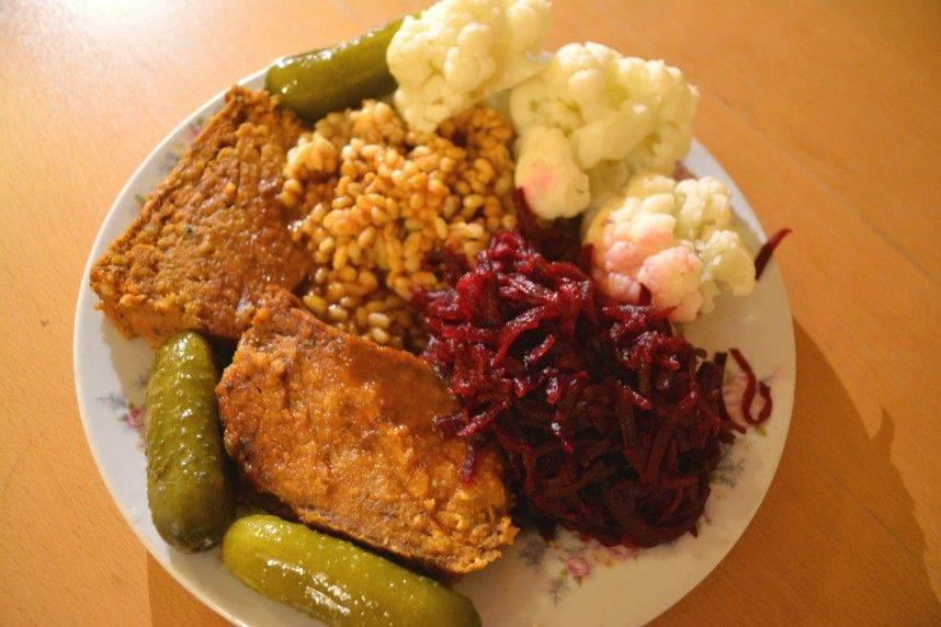 Obiad - Pasztet warzywny