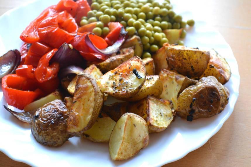Obiad - zapiekane ziemniaki
