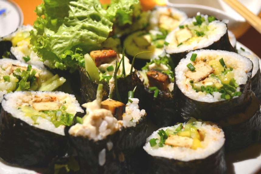 weganńskie sushi