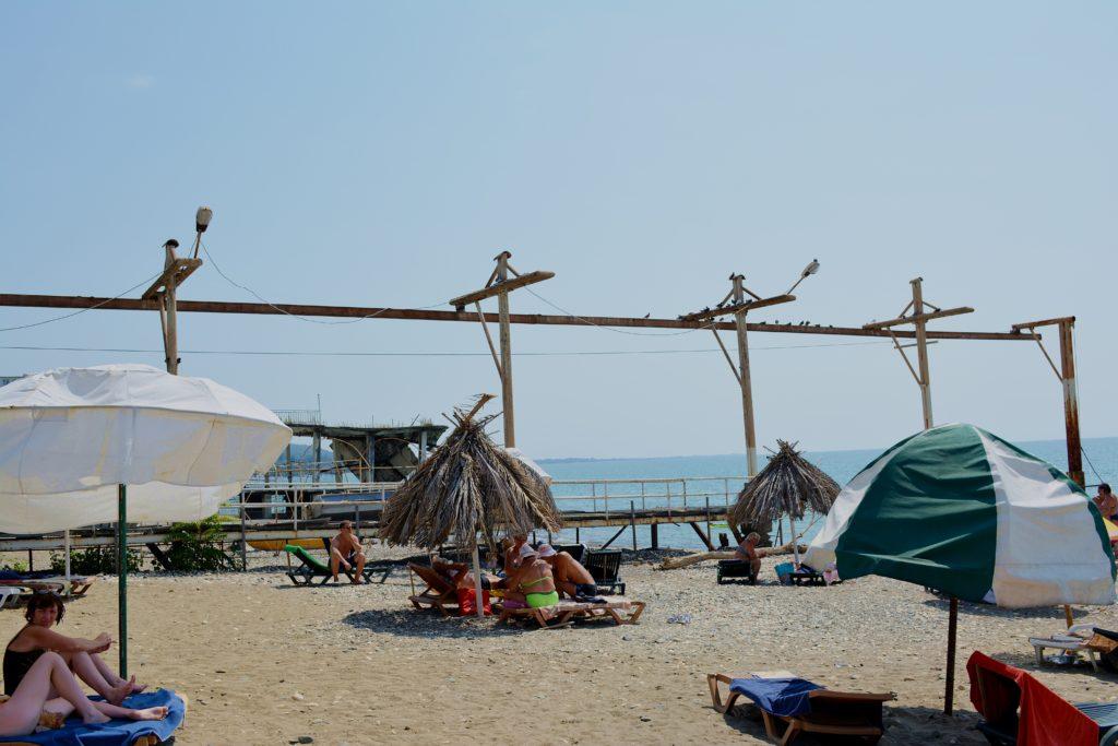 Plaża w Suchumi