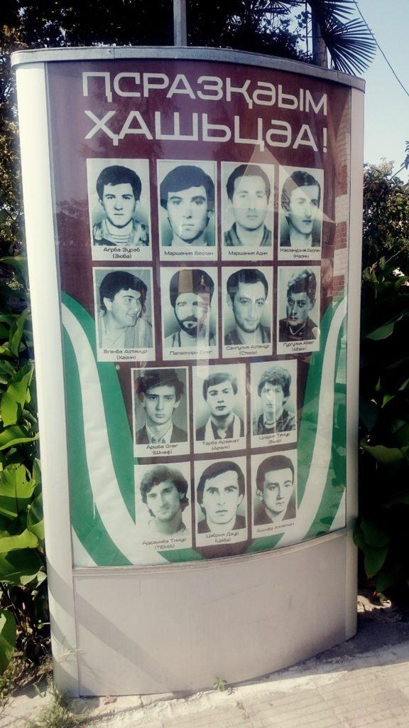 Abchaja bohaterowie