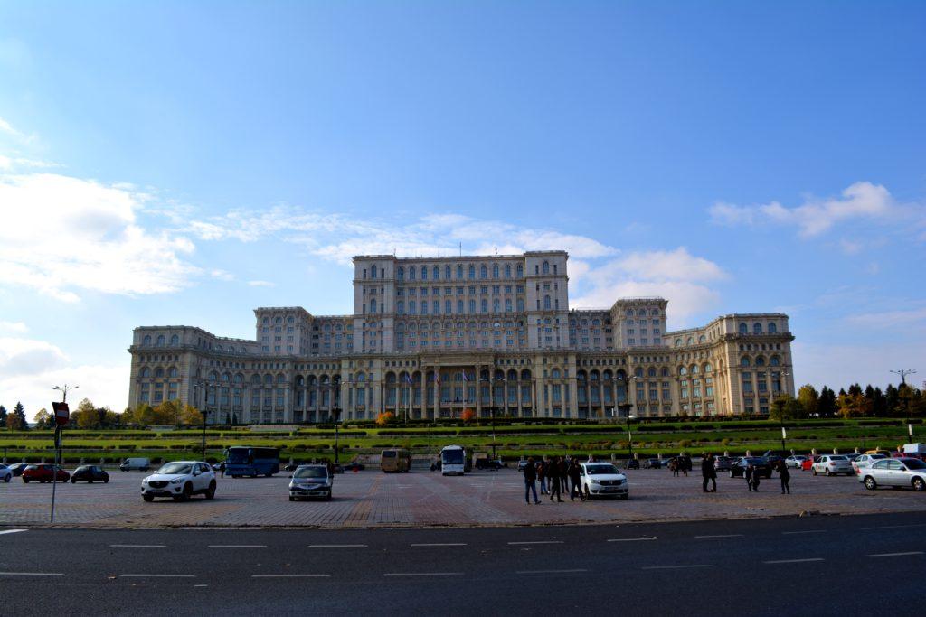 Pałac Ceausescu Rumunia
