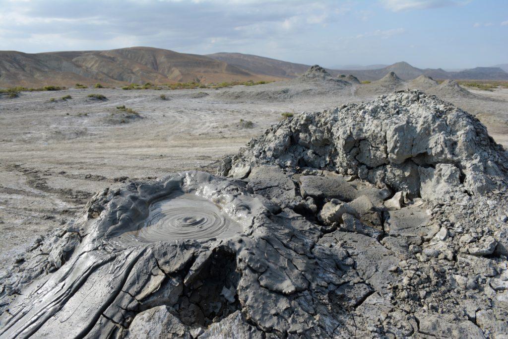 Wulkany błotne Qobustan