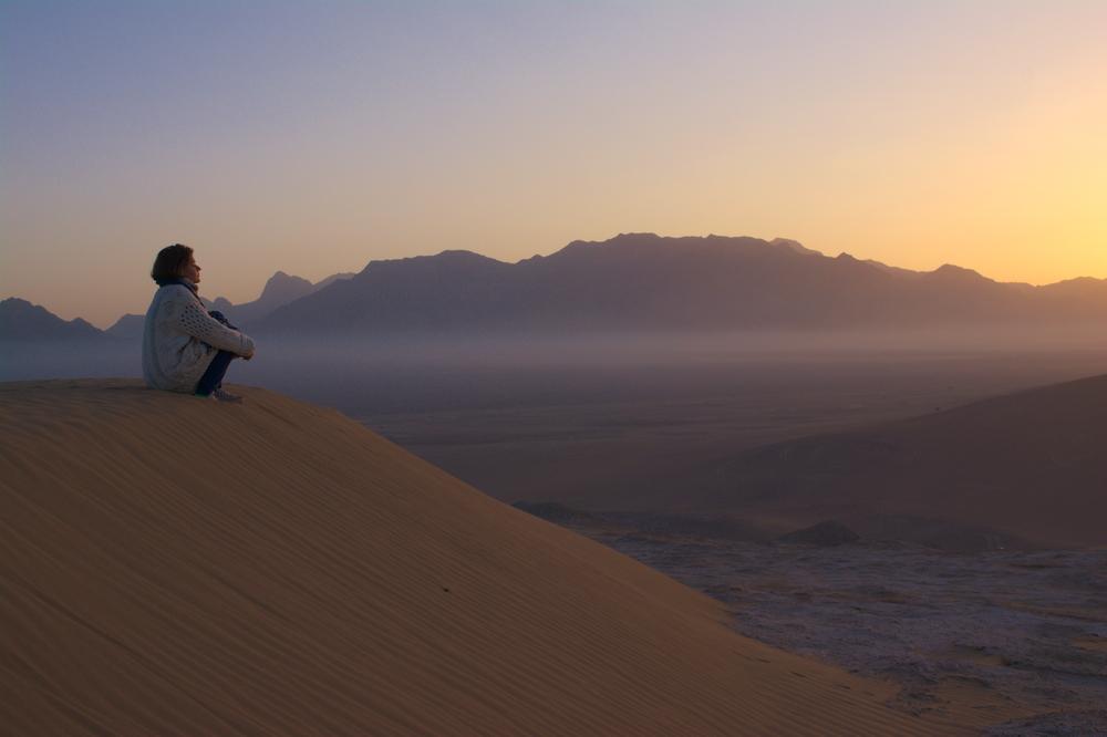 Iran, pustynia