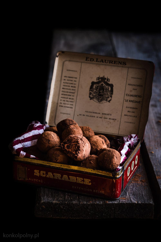 Piernikowo-czekoladowe trufle